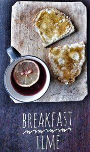 Frühstücksbrettchen mit Foto