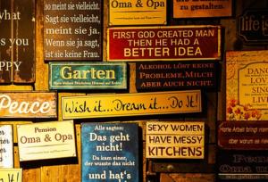 Schilder bedrucken